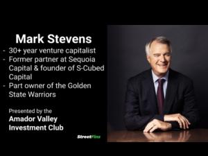 Mark Stevens on Venture Capital and COVID-19