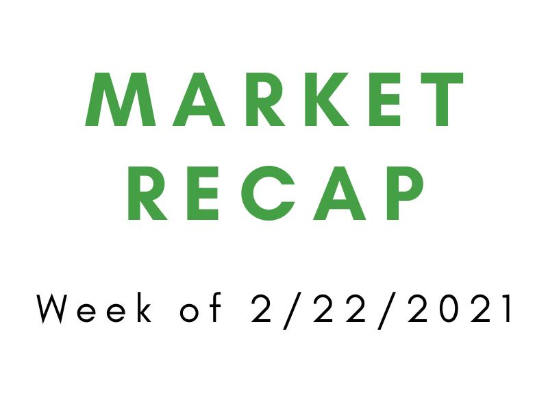 Week of 2/22/2021 Market Recap