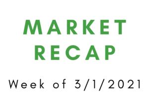 Week of 3/1/2021 Market Recap