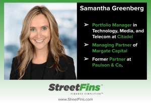Samantha Greenberg on Her Career and Hedge Funds