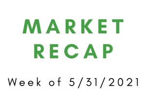 Week of 5/31/2021 Market Recap