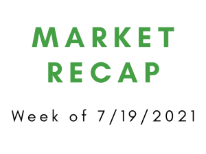 Week of 7/19/2021 Market Recap