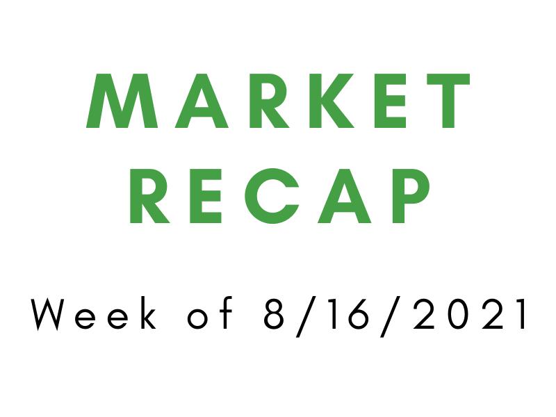 Week of 8/16/2021 Market Recap