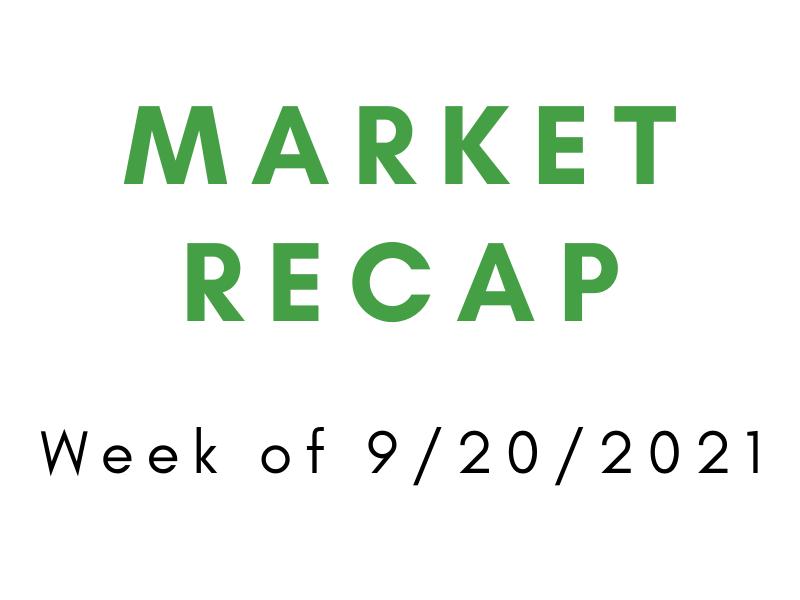 Week of 9/20/2021 Market Recap